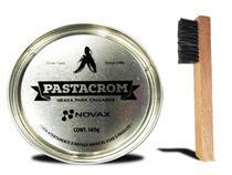 Graxa Para Sapato Pastacrom Premium Shoes 140g - novax