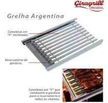 Grelha argentina ga510 inox - giragrill -