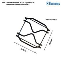 Grelha lateral p/fogões tripla chama electrolux 5 bocas 76 bdr -