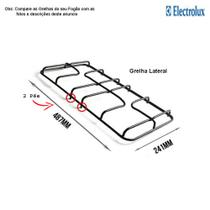 Grelha lateral para fogões electrolux 4 bocas 56 se -