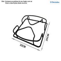Grelha lateral para fogões tripla chama electrolux 5 bocas 76 srx -