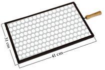 Grelha Para Churrasqueira Retangular Mc-100.2 41x31 Cm - Minasca