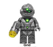 Grid - Dc Comics - Minifigura De Montar - Aliança Geek