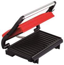 Grill compact uno 760w c/ placas anti aderentes vermelho 220v - arno -