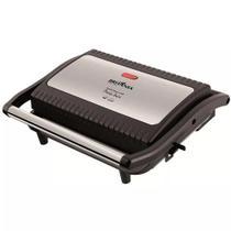 Grill e Sanduicheira Britânia Press Inox 850W 064002073 - Britania Portateis Importados