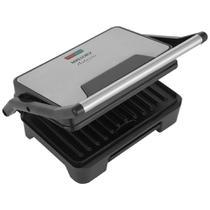 Grill Mallory Retangular 900W com Coletor de Gordura Asteria Compact -