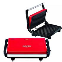Grill Sanduicheira Arno Uno Press Inox 760w +coletor Gordura -