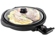 Grill/Sanduicheira Cadence Perfect Taste Redondo - 1250W -