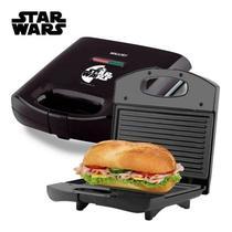 Grill Sanduicheira Star Wars Antiaderente Mallory Inox 750w -