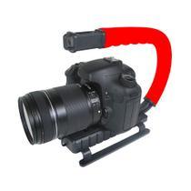 Grip e estabilizador de mão para filmar esportes de ação com câmera DSLR vídeo - Vivitar