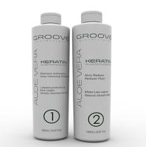 Groove Professional Aloe Vera Keratin Escova Progressiva Kit 2x1000ml