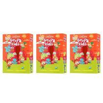 Grupy Kids Hidrata De MontÃO Shampoo + Condicionador  500ml (Kit C/03) - Nazca