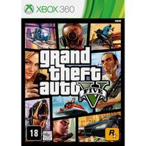 Gta 5 grand theft auto gta v xbox 360 mídia física lacrado - Rockstar Games