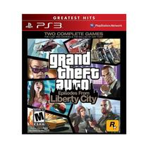 GTA: Episodes From Liberty City - PS 3 - Sony