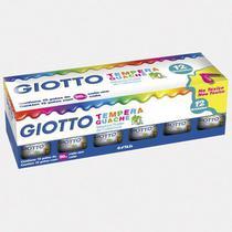 Guache Giotto  Estojo  012 Cores  017 000 -