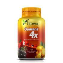 Guarana 4X Fitoway - 60 Cápsulas - Fitoway -