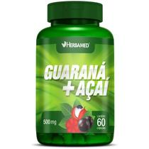 Guarana + Açaí - 60 Cápsulas - Herbamed -