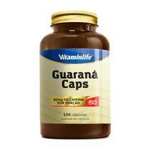 GUARANÁ CAPS 60MG (120 CAPS) - Vitaminlife -
