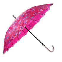 Guarda chuva cabo curvo estampado c/16 varetas - imperium -