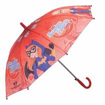 Guarda Chuva Infantil Automático Super Hero Girls