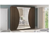 Guarda-roupa Casal 2 Portas 6 Gavetas Kappesberg - G550 com Espelho