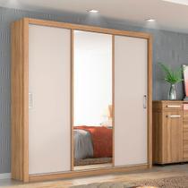 Guarda Roupa Casal 3 Portas com Espelho Residence II Demóbile -