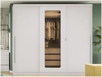 Guarda-roupa Casal 3 Portas de Correr 3 Gavetas - Kappesberg H547-BR
