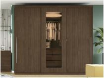 Guarda-roupa Casal 3 Portas de Correr 3 Gavetas - Kappesberg H547-JA