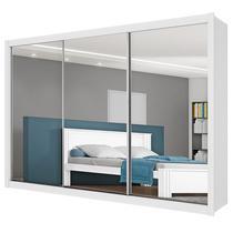 Guarda-Roupa Casal Espelhado 3 Portas E 6 Gavetas Toronto - Móveis Europa -