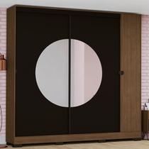 Guarda-Roupa Casal Kappesberg Pop 3 Portas e 3 Gavetas com Espelho -