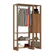 Guarda Roupa Closet 01 Porta 05 Prateleiras Yes EY101.107 Montana Nova Mobile -