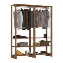 Guarda Roupa Closet 06 Prateleiras Yes EY101.101 Montana Nova Mobile -