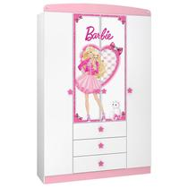 Guarda Roupa Infantil Barbie Star 8A - Pura Magia