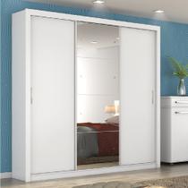 Guarda roupa residence ii 3 portas branco - demobile -