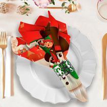 Guardanapo de Natal Feliz - Love Decor