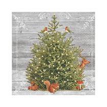 Guardanapo de Papel Decorado Estampado Árvore de Natal Luxo Pacote com 20 unidades A Special Tree - Paper Design