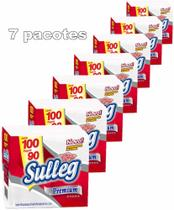 Guardanapo de Papel Folha Simples Premium 31x31cm Sulleg 7 Pct/ 100 unidades qualidade 700 unidades -