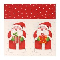 Guardanapo De Papel Mesa Natal Papai Noel 20 Pçs Vermelha - Cromus
