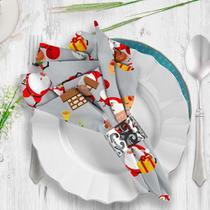 Guardanapo de Tecido Multi Papai Noel - Love Decor