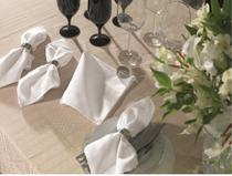 Guardanapo gourmet branco - karsten -