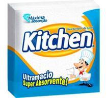 Guardanapo Papel Folha Simples Kitchen 22,7cm X 22,8cm 50uni -