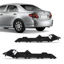 Guia Suporte Para-Choque Traseiro Corolla 2008 2009 2010 2011 2012 2013 2014 Preto - Engekar