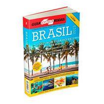 Guia Turístico 4 Rodas Brasil 2013 956 Páginas + Mapão Abril -