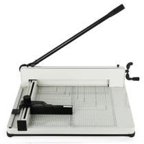 Guilhotina papel A3 semi industrial 400 folhas 17 polegadas GT825 - Lorben -