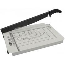 Guilhotina para cortar papel menno gpm 255 até 15 folhas branca com serigrafia preta -