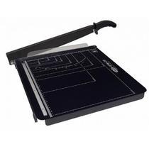 Guilhotina para cortar papel menno gpm 420 até 15 folhas preta com serigrafia branca -