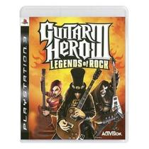 Guitar Hero 3 Legends Of Rock - Ps3  Mídia Física Raro - Activision