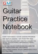 Guitar Practice Notebook - Guitar  music online learning ltd.