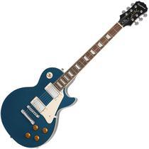 Guitarra elet epiphone lp standard plus top pro transblue -