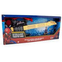 Guitarra Elétrica de Brinquedo Homem Aranha 30502 - Toyng -
